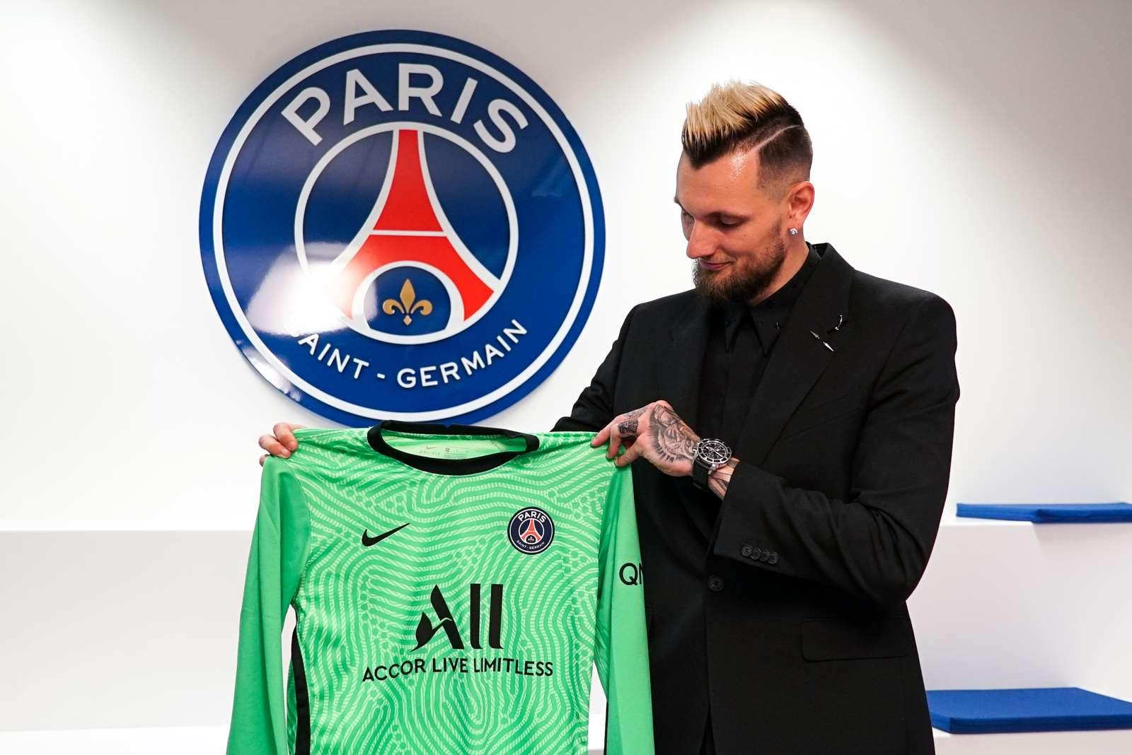 Alexandre Letellier: 'I'm delighted and proud'   Paris Saint-Germain